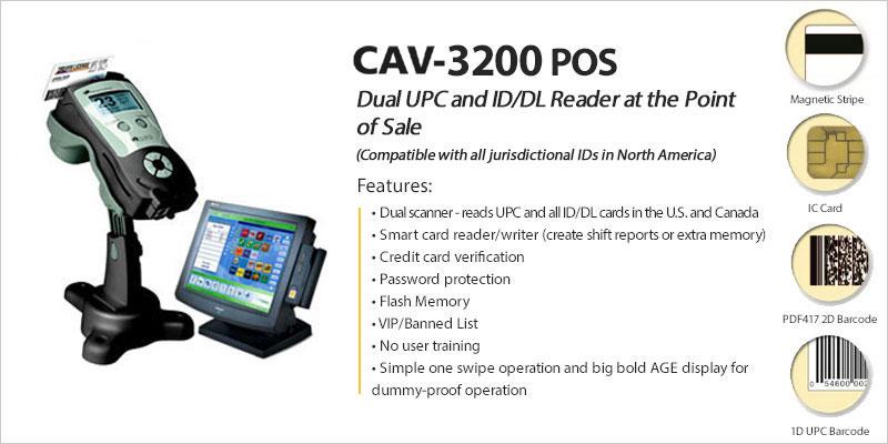 CAV-3200-POS