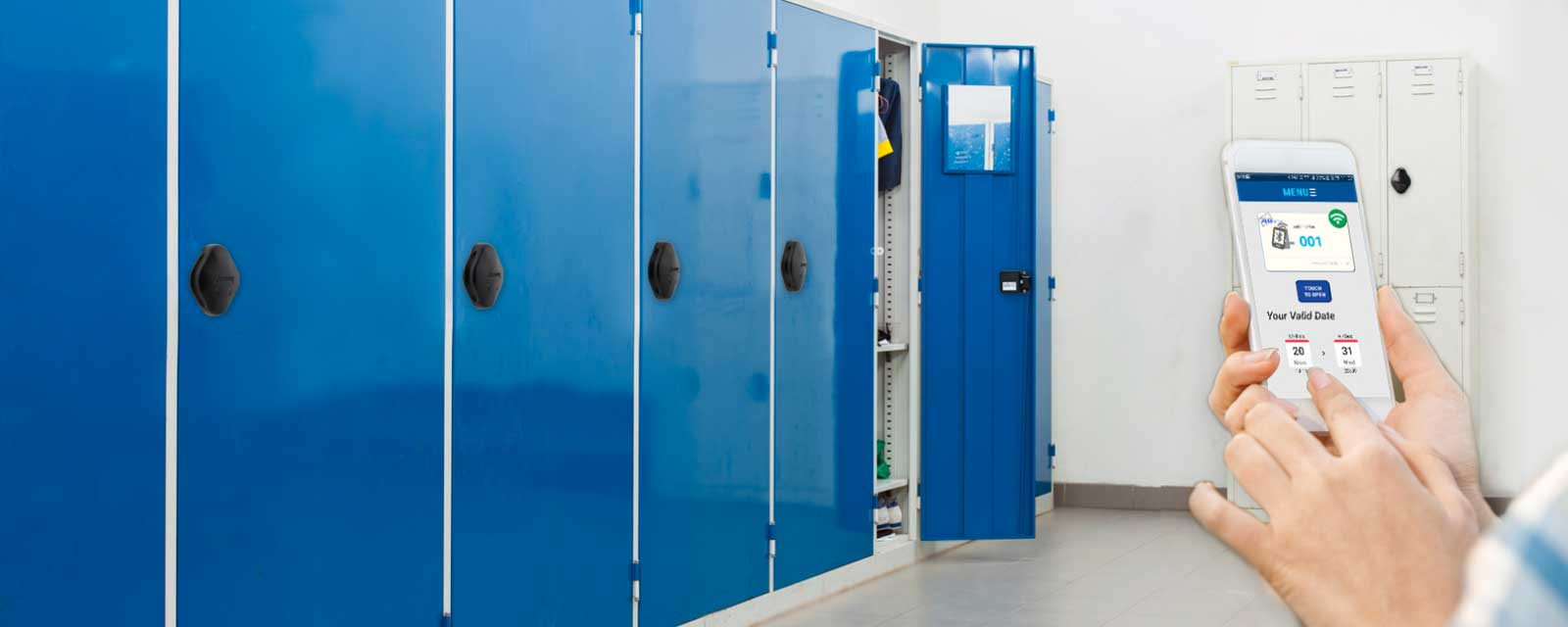 ViAge Solutions – Smart RFID Locker Locks