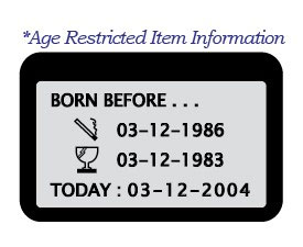 ViAge Age restricted item information